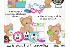 Teddy Bear Bingo '20