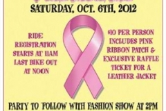 3rd Annual Black & Pink Ride